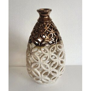 Cut Out Bottle Vase