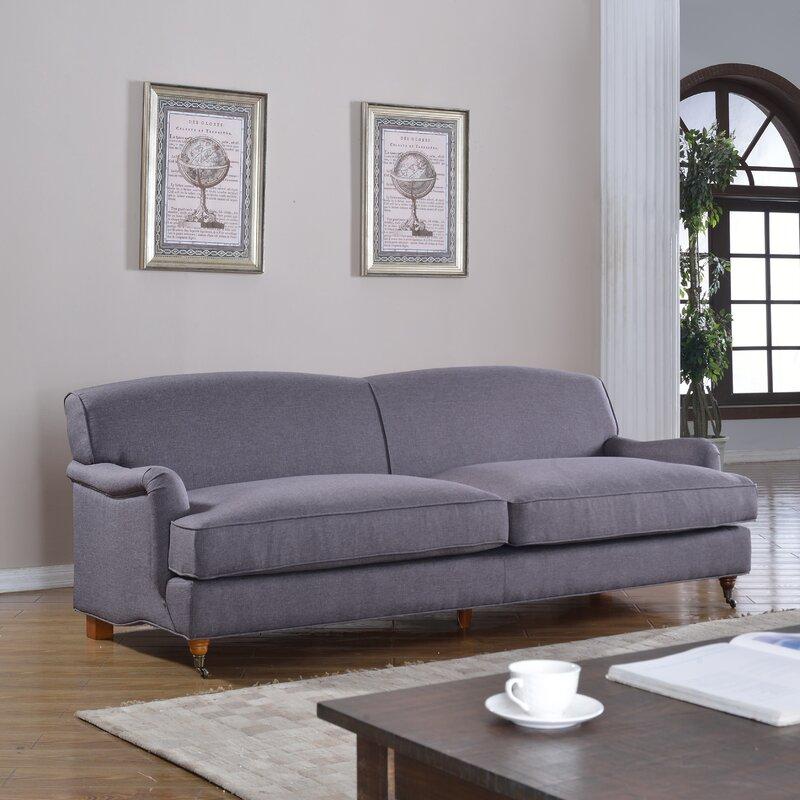 Madison Home USA Mid-Century Modern Large Sofa With
