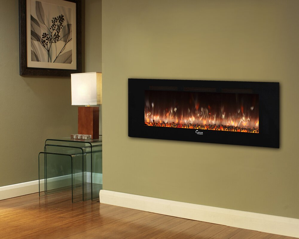 Design Linear Fireplace brayden studio brentwood linear wall mount electric fireplace fireplace