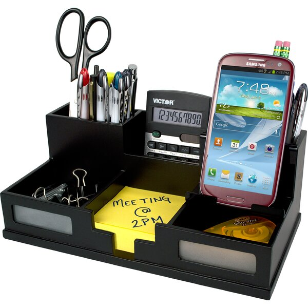 Zipcode Design Camile Desk Organizer With Smart Phone