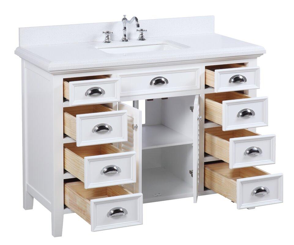 Kbc Savannah 48 Single Bathroom Vanity Set Reviews