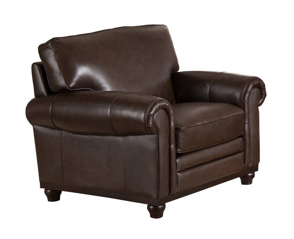 top grain leather club chair westland and birch coventry top grain leather club chair 8548