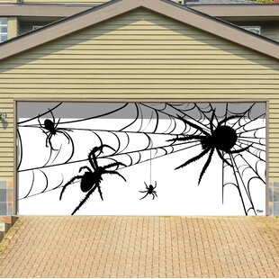 Spiders Garage Door Mural