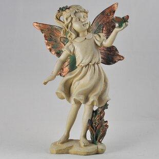 Practical Sitzender Angel Wand Dekoration Handgefertigter Bronze Skulptur Statue Figur T Antiquitäten & Kunst