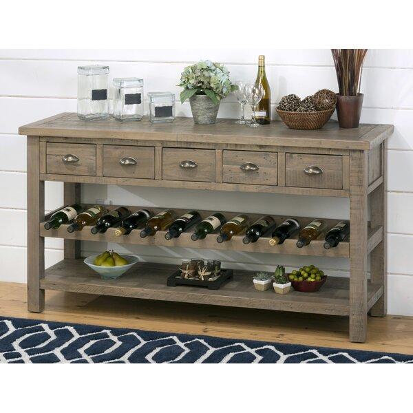 gracie oaks lovella wooden wine rack buffet table wayfair rh wayfair com wine fridge buffet cabinet iohomes annadel wine cabinet buffet black