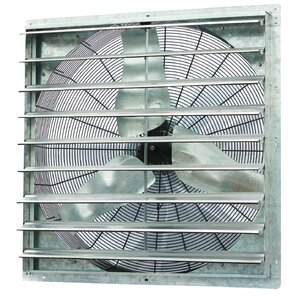 6100 CFM Bathroom Fan With Variable Speed