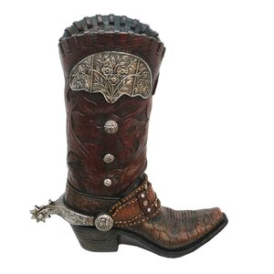 Sebastopol Cowboy Boot Vase (Set of 2)