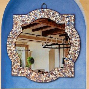 Alvarez Quatrefoil Frame Bathroom/Vanity Wall Mirror