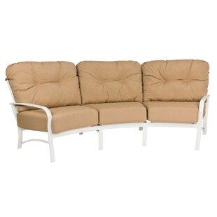 Finest Crescent Shaped Outdoor Sofa | Wayfair TM77