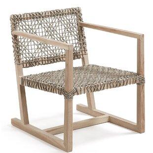 Indian Harbour Teak Wood Armchair