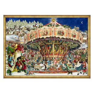 Merry Go Round Advent Calendar