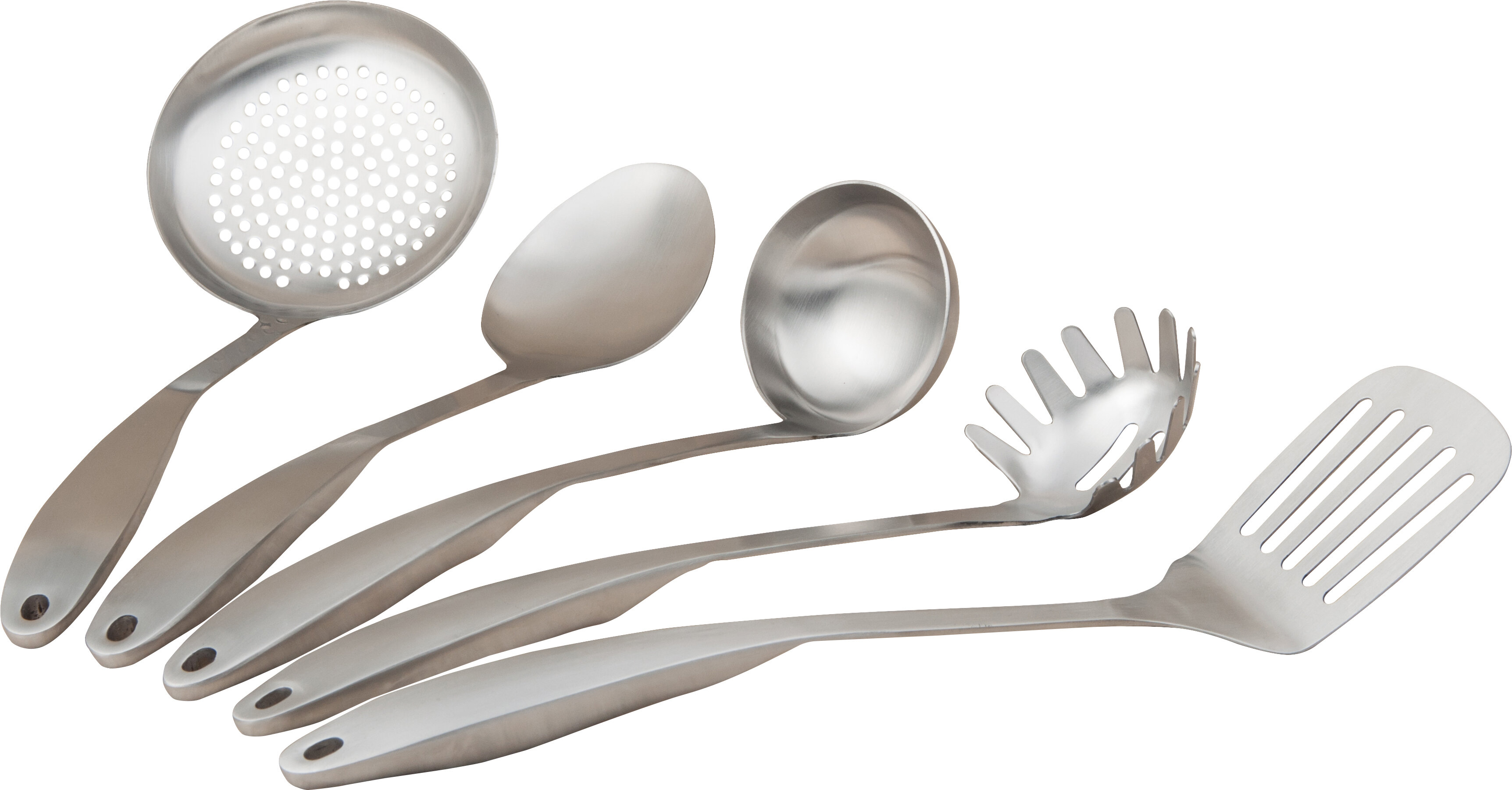 Cook Pro 5 Piece Stainless Steel Professional Kitchen Tool Set Reviews Wayfair