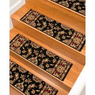 Baylis Black/Green/Orange Stair Tread (Set Of 13)