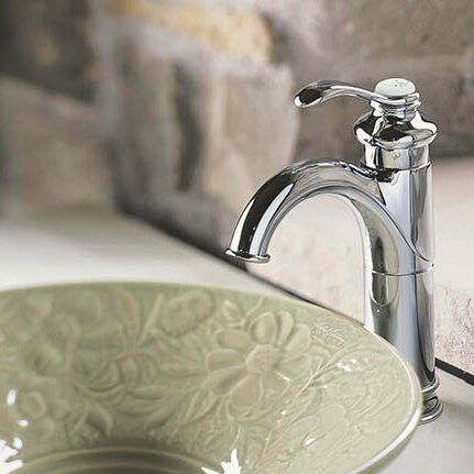 K-12183-2BZ,BN,CP Kohler Fairfax Single hole Bathroom Faucet with ...