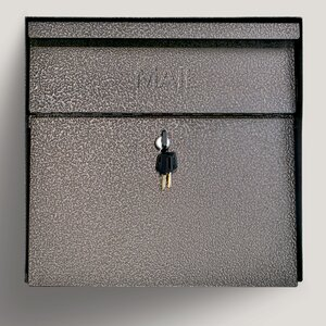 Metro Locking Wall Mounted Mailbox