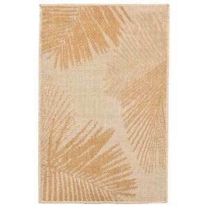 cecile palm neutral area rug