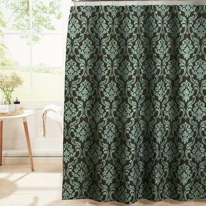 Diamond Weave Textured Shower Curtain Set