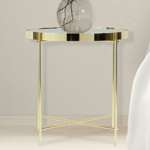 Rose Gold Side Table Wayfair - Wayfair gold end table