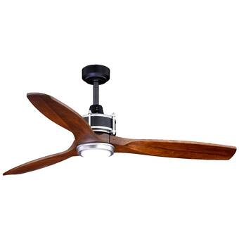 52 Eloise 3 Blade Indoor Outdoor Led Ceiling Fan With Remote