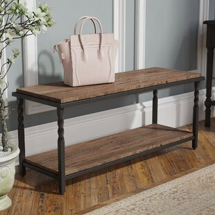 Reeves Wood Storage Entryway Bench