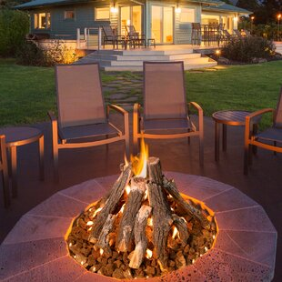 Superior Stainless Steel Wood Burning Fire Pit Table