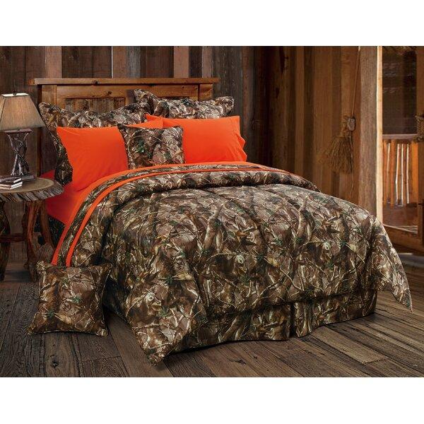 loon peak cerritos oak timber comforter set reviews wayfair. Black Bedroom Furniture Sets. Home Design Ideas