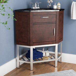 Corner Bathroom Vanity With Sink. Save to Idea Board  Andover Mills Dupont Corner 33 Single Bathroom Vanity Set Vanities You ll Love Wayfair
