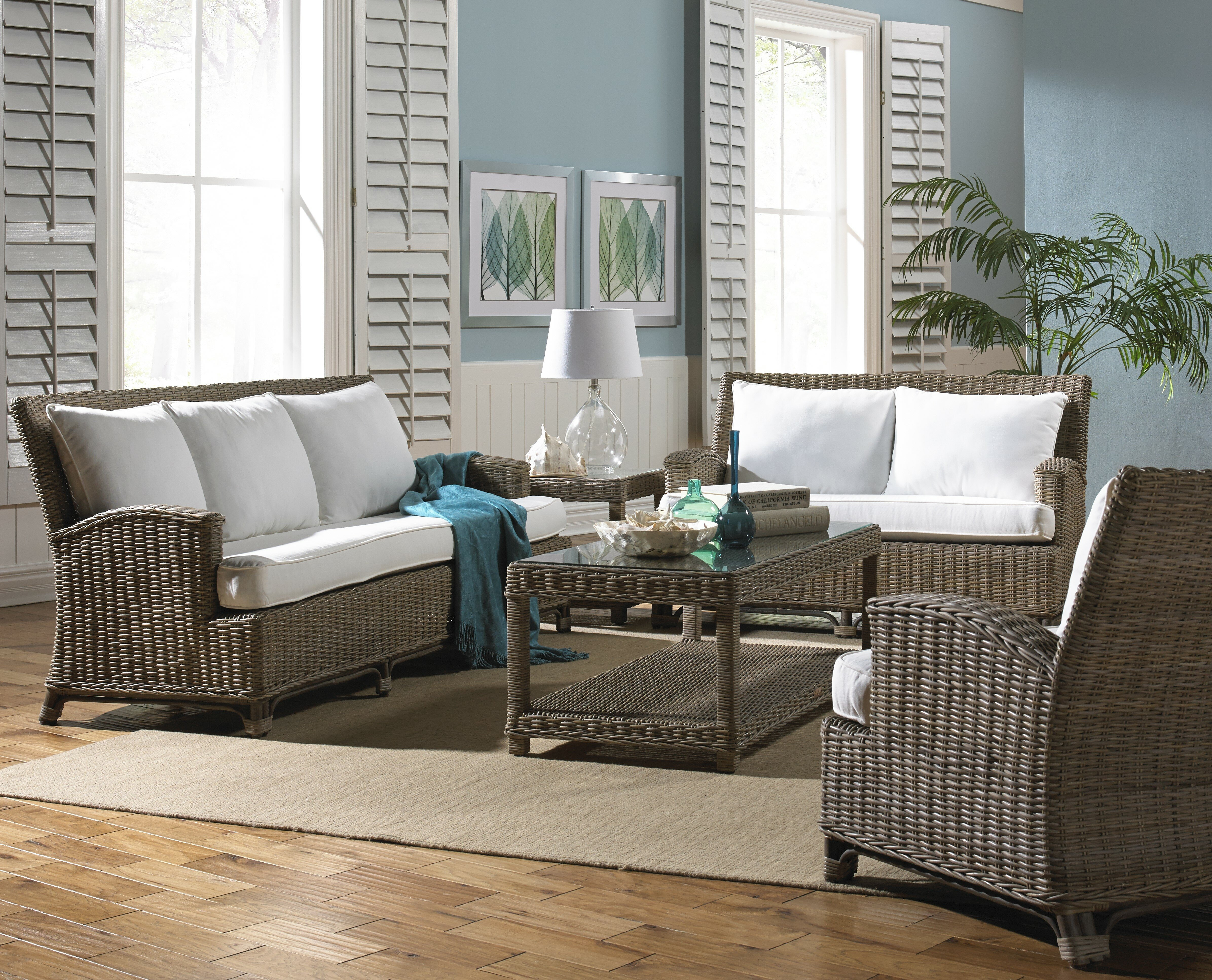 Panama Jack Sunroom Exuma 5 Piece Conservatory Living Room Set Reviews Wayfair