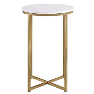 Circular Side Table | Wayfair.co.uk