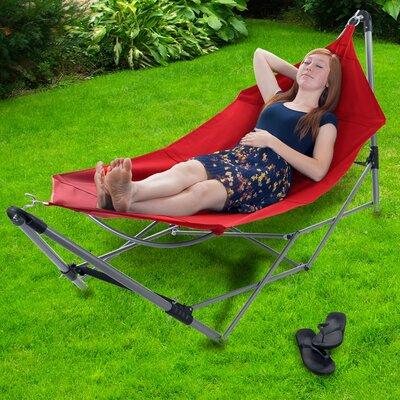 portable camping hammock with stand novica hang ten parachute nylon camping hammock  u0026 reviews   wayfair  rh   wayfair