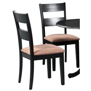 Sanabria Soft Padded Solid Wood Dining Chair (Set of 4)