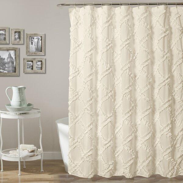 Shower Curtain Rod Towel Rack | Wayfair