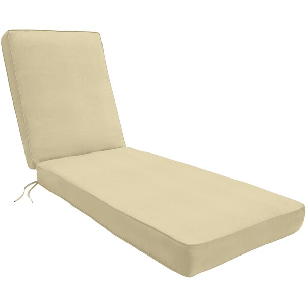 Wayfair Custom Outdoor Cushions Double-Piped Outdoor Sunbrella Chaise Lounge Cushion u0026 Reviews | Wayfair  sc 1 st  Wayfair.com : double chaise lounge cushions - Sectionals, Sofas & Couches