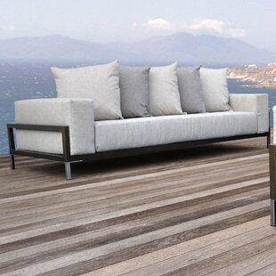 Nubis Deep Seating Sofa With Cushions