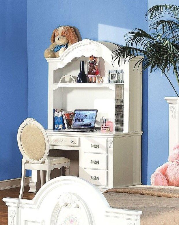 Harriet Bee Egbert Student Desk With Hutch And Chair Set   Wayfair