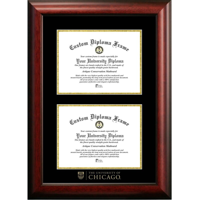 Diploma Frame Deals The Contemporary University of Chicago Picture ...