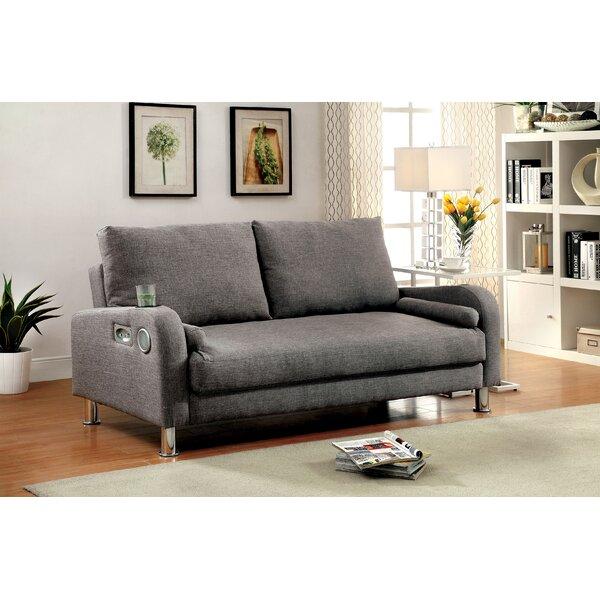 Latitude Run Molly Futon Convertible Sofa   Wayfair