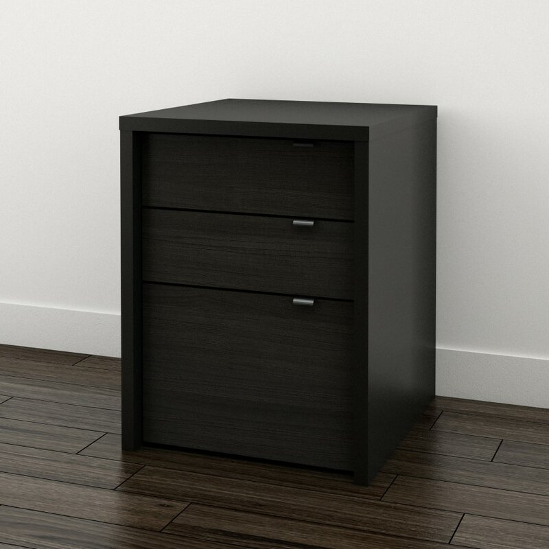Ebern Designs Blaire 3 Drawer File Cabinet Reviews Wayfair