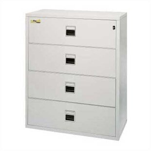 Fireproof 4 Drawer Lateral Signature File