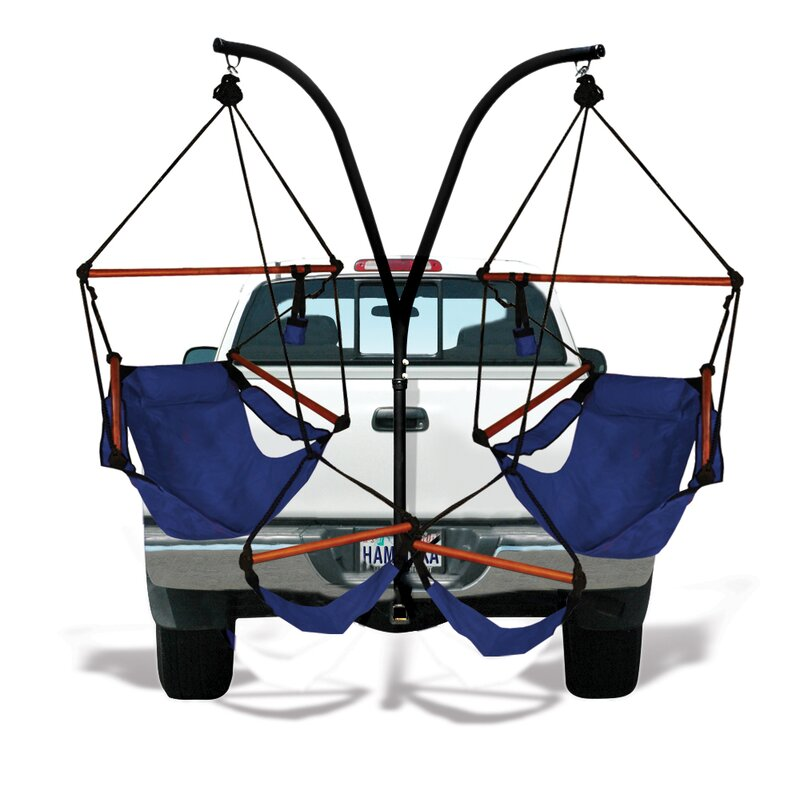 Hammaka Trailer Hitch Stand Cotton Chair Hammock With