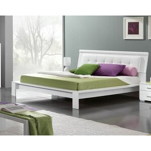 Upholstered Platform Bed by Noci Design