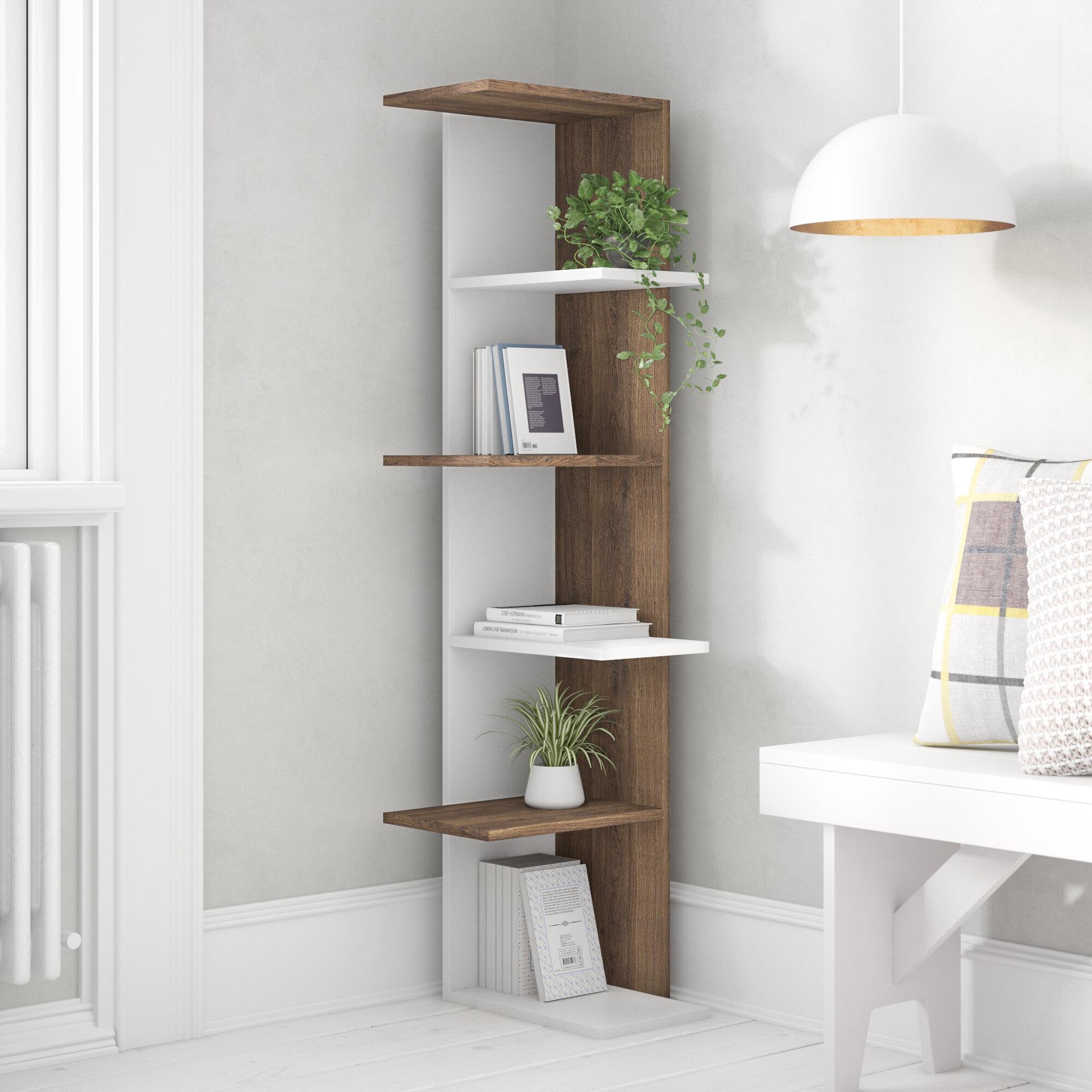 Symple stuff corner bookcase reviews wayfair co uk