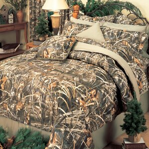 California King Camouflage Bedding Sets Youll Love Wayfair - Bedding comforter set realtree xtra