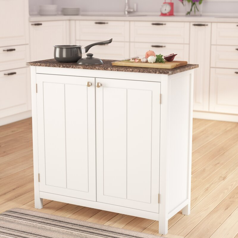 Kitchen Island Furniture: Alcott Hill Haubrich Kitchen Island & Reviews