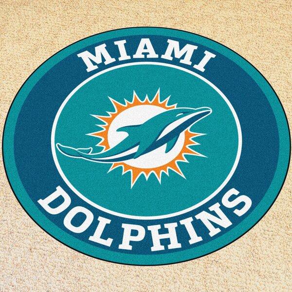 Fanmats Nfl Miami Dolphins Roundel Mat Amp Reviews Wayfair