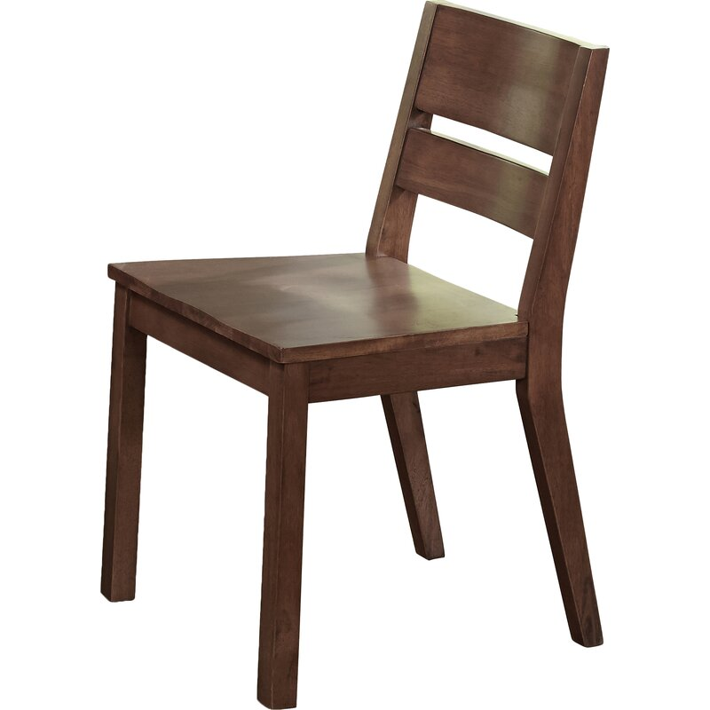 Brayden Studio Losey Solid Wood Dining Chair Amp Reviews
