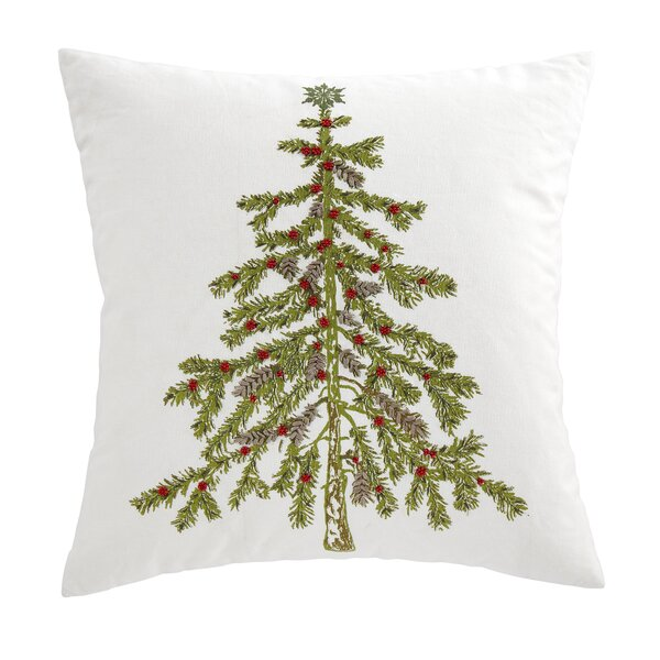 Acuna Evergreen Embroidered Pillow Cover Amp Reviews Joss