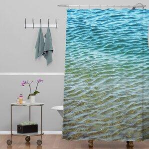 Shannon Clark Ombre Sea Shower Curtain