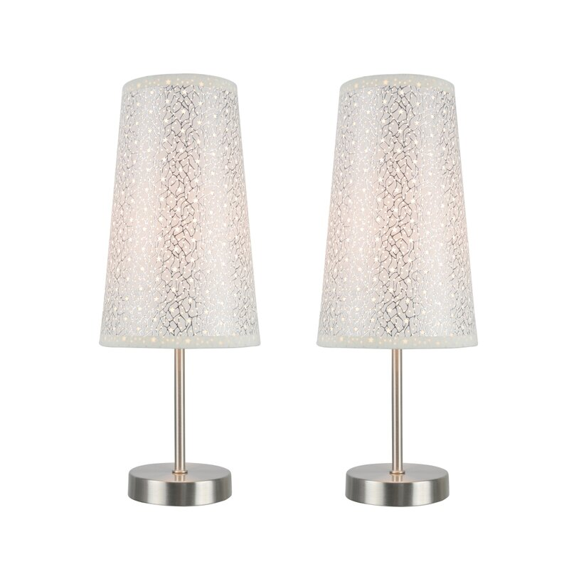 Charmant Darrin Contemporary Candlestick Table Lamp