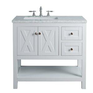 single sink bathroom vanity. Marilyn 36  Single Bathroom Vanity Set Vanities Joss Main